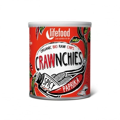 Crawnchies pikantné s paprikou BIO RAW